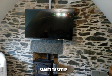 Home IT Services and Audio Visual Support Ayrshire - Smart TV Set-up